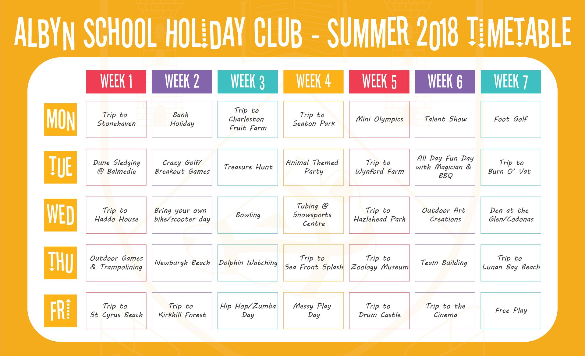 Albyn School Holiday Club - Albyn School - Aberdeen, Scotland
